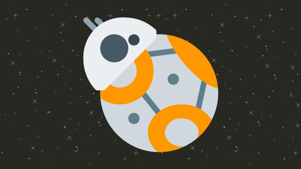Robô BB-8 de Star Wars