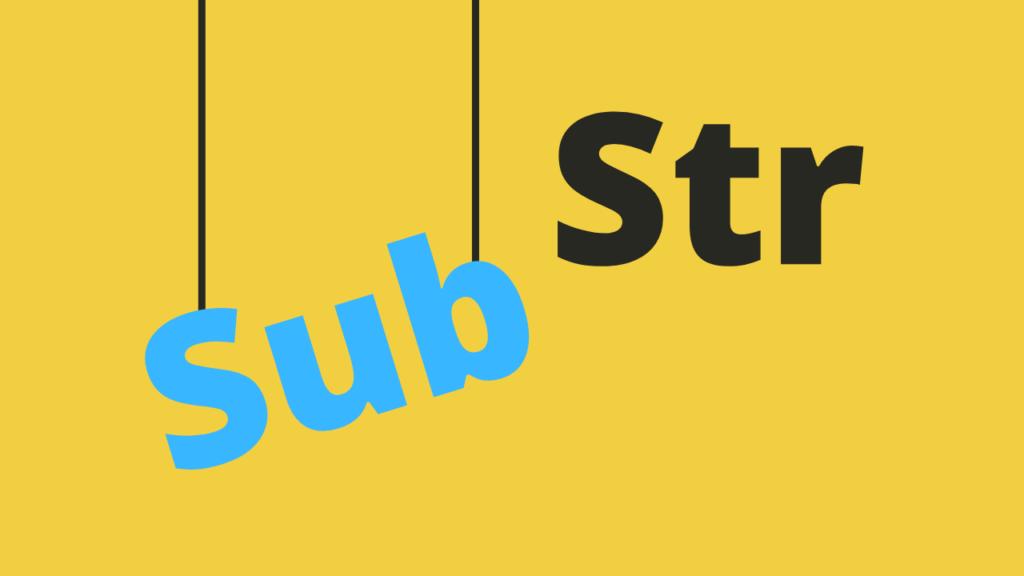 como funciona substr javascript